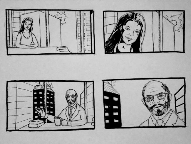 Gone Storyboard